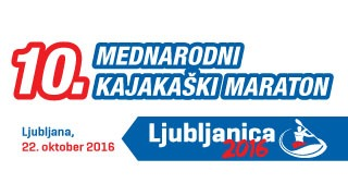 Invitation to kayak marathon LJUBLJANICA 2016 , date 22nd October 2016