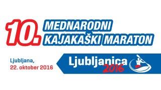 Pozvánka na závod Ljubljanica 2016, termín 22.10.2016